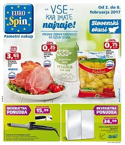 Eurospin katalog do 08. 02.