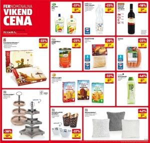 Hofer vikend akcija do 22. 01.