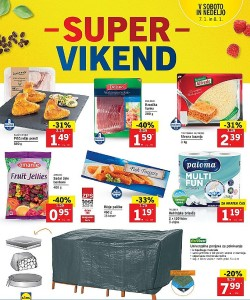 Lidl akcija Super vikend do 08. 01.