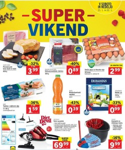 Lidl akcija Super vikend do 22. 01.