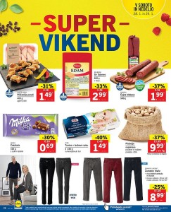Lidl akcija Super vikend do 29. 01.