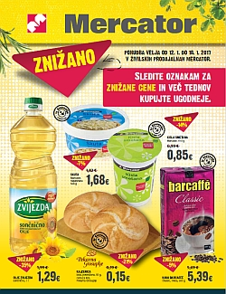 Mercator katalog Znižano do 18. 01.