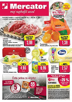 Mercator katalog do 25. 01.