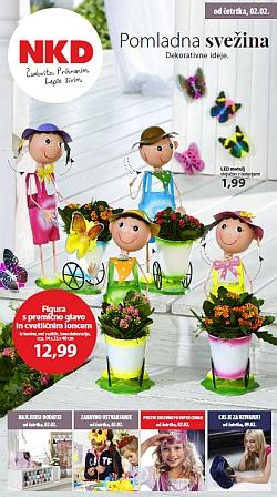 NKD katalog Pomladna svežina od 02. 02.