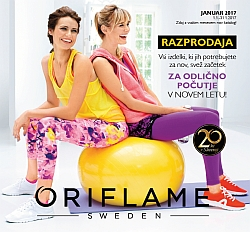 Oriflame katalog januar 2017