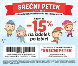 Pikapolonica akcija Srečni petek 27. 01.