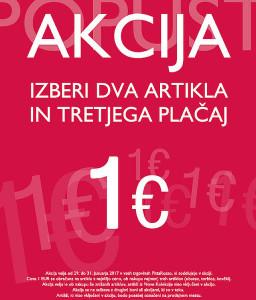 PittaRosso akcija Izberi dva, tretji za 1 € do 31. 01.