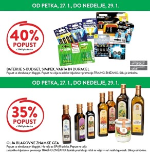 Spar in Interspar vikend akcija do 29. 01.
