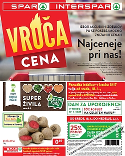 Spar in Interspar katalog do 24. 01.