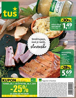 Tuš katalog trgovine in franšize do 30. 01.