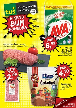 Tuš katalog Vikend BUM akcija do 15. 01.