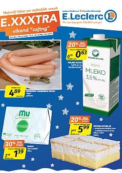 E Leclerc katalog Maribor Exxxtra vikend do 12. 02.