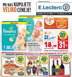 E Leclerc katalog Maribor do 26. 02.