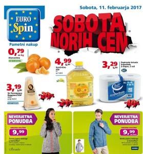 Eurospin sobota norih cen 11. 02.