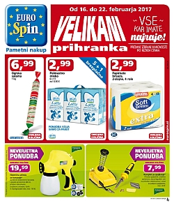 Eurospin katalog do 22. 02.