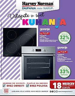 Harvey Norman katalog Svet kuhanja do 28. 02.