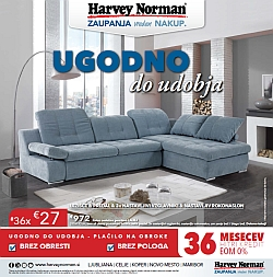 Harvey Norman katalog Ugodno do udobja