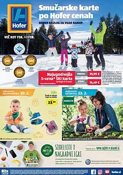 Hofer katalog od 20. 02. in od 23. 02.