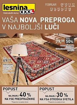 Lesnina katalog Preproge do 18. 02.