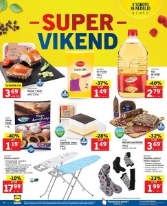 Lidl akcija Super vikend do 05. 02.