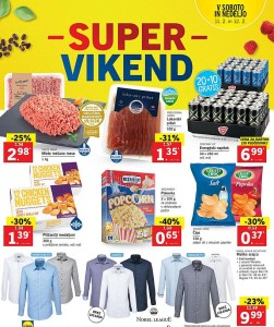 Lidl akcija Super vikend do 12. 02.