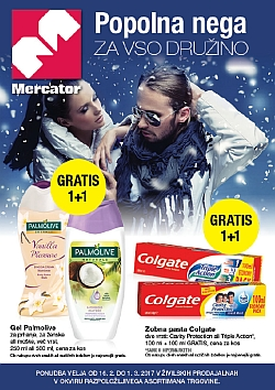 Mercator katalog Kozmetika do 01. 03.