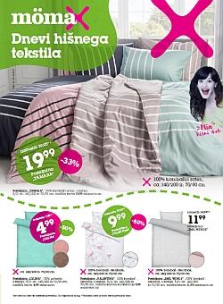 Momax katalog Dnevi hišnega tekstila