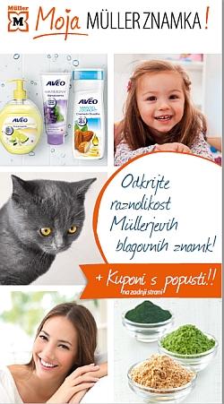 Muller katalog Lastna blagovna znamka