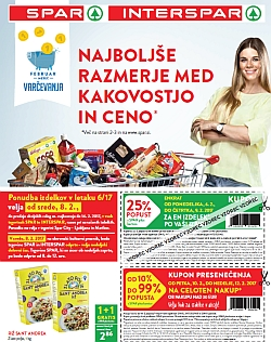 Spar in Interspar katalog do 14. 02.