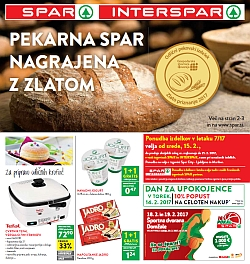 Spar in Interspar katalog do 21. 02.