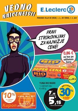 E Leclerc katalog Ljubljana do 7.3.