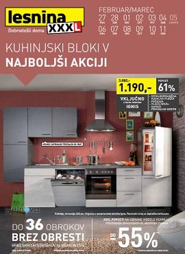 Lesnina katalog Kuhinjski bloki