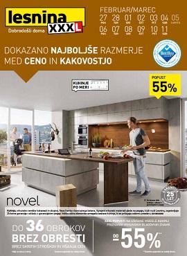 Lesnina katalog Kuhinje do 11.3.