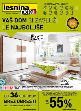 Lesnina katalog Le najboljše za vaš dom Ljubljana