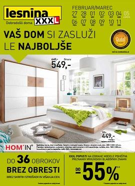 Lesnina katalog Le najboljše za vaš dom Maribor in Levec