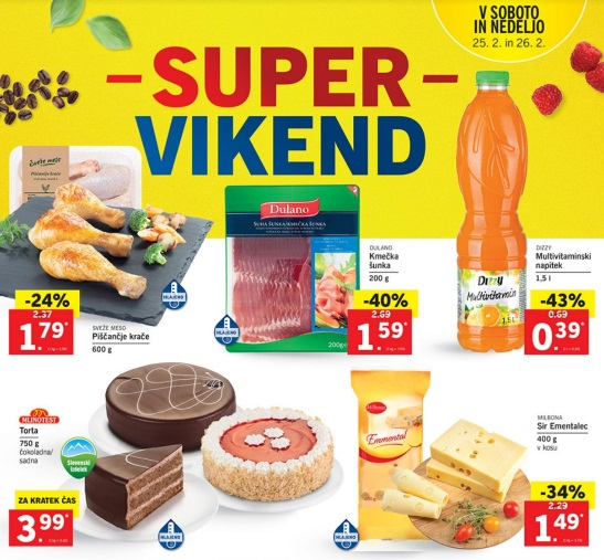 Lidl akcija Super vikend do 26.2.