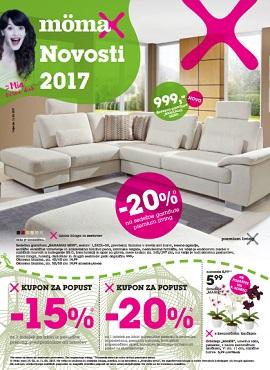 Momax katalog Novosti 2017 Velenje Kranj
