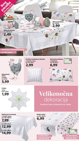 NKD katalog Velikonočna dekoracija