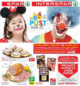 Spar in Interspar katalog do 28.2.