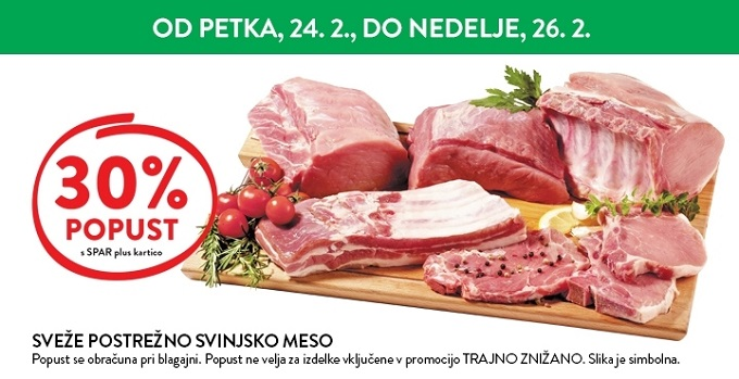 Spar in Interspar vikend akcija do 26. 02.