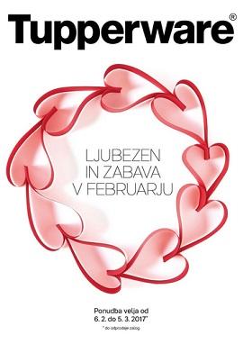 Tupperware katalog Ljubezen in zabava v Februarju