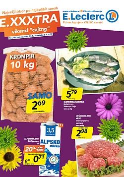 E Leclerc katalog Maribor Exxxtra vikend do 02. 04.