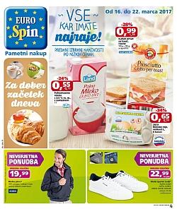 Eurospin katalog do 22. 03.