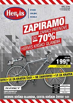Hervis katalog Krško do 04. 04.
