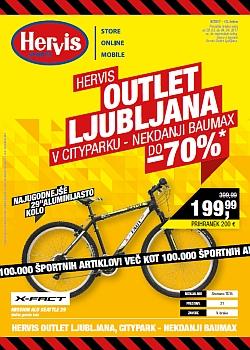 Hervis katalog Ljubljana Outlet do 04. 04.
