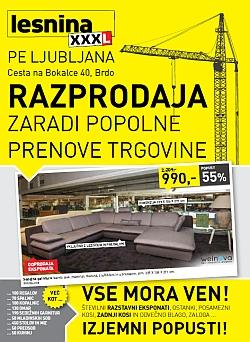 Lesnina katalog Ljubljana Razprodaja do 08. 04.