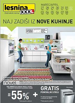 Lesnina katalog Kuhinje do 08. 04.