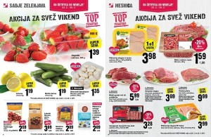 Mercator akcija za svež vikend do 26. 03.