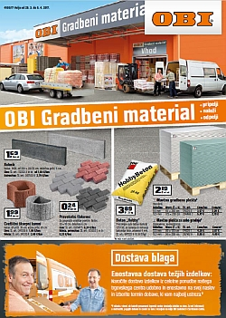 OBI katalog Gradbeni materiali do 05. 04.