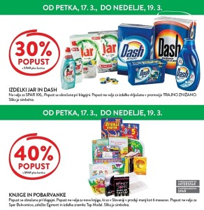 Spar in Interspar vikend akcija do 19. 03.